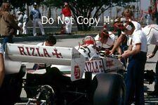 Eliseo Salazar Ram equipo marzo 01 USA West Grand Prix 1983 fotografía 1