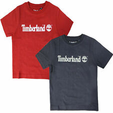 Timberland Crew Neck T-Shirts & Tops (2-16 Years) for Boys