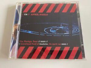 U2 APRIL FOOLS LIVE ANAHEIM USA 04-01-2005 2 CDS