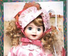 """Marie Osmond Story Book Little Bo Peep Shepherdess 7.5"""" Porcelain Doll Nib"""