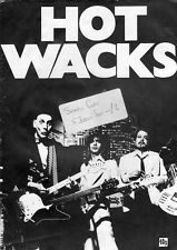 Hot Wacks magazine UK #18 1979 Cheap Trick in England  Asleep at the Wheel