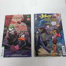 DC Comics Looney Tunes The Joker / Daffy Duck #1 Original & Variant NM