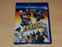 LEGO Justice League Attack of the Legion of Doom Blu Ray **FREE UK POSTAGE**