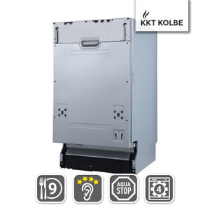 2. Wahl 45cm Geschirrspüler Spülmaschine vollintegrierbar 9 Gedecke Zeitvorwahl