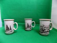 Churchill Mugs x 3