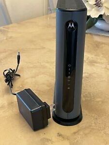 Motorola MG7550 16x4 DOCSIS 3.0 Cable Modem Plus AC1900 Dual Band Wifi Router