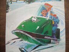 1968 Vintage SKIROULE Snowmobile Brochure