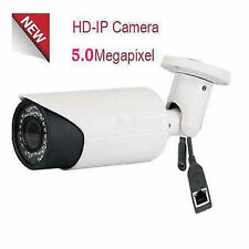 High Definition 5MP IP PoE 42IR Bullet Security Camera 2.8-12mm Varifocal Lens