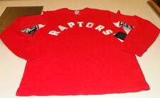 NBA Basketball Hands High Toronto Raptors Long Sleeves Shirt Armpit Logo Large