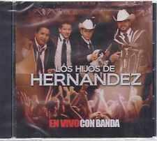 CD - Los Hijos De Hernandez NEW En Vivo Con La Banda FAST SHIPPING !