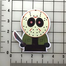 "South Park Jason Voorhies Friday the 13th 4"" Tall Vinyl Decal Sticker BOGO"