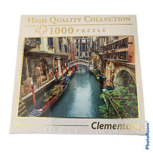 Clementoni Puzzle High Quality Made In Italy 1000 Trattoria Venice Canal