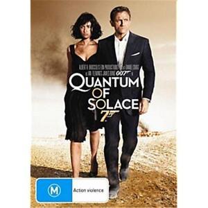QUANTUM OF SOLACE : NEW DVD : 007