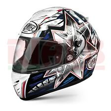 Casco Integrale Premier DRAGON EVO B01 Replica Troy Bayliss - white Taglia L