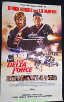 DELTA FORCE MOVIE POSTER Orig. video store rental 27x40 One Sheet  CHUCK NORRIS