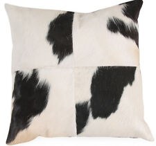 KUH Black&White Cow Hide Pillow