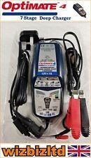 Optimate4 Dual Program Motorcycle Battery Charger (For 12v Acid Gel) OPC004