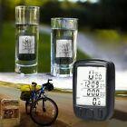 LCD Bike Computer Speedo Tachimetro Contachilometri Biciclette Impermeabile+