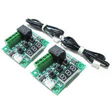 2x W1209 12V DC Digital Temperature Controller Board Mini Electronic Temper Q5E6