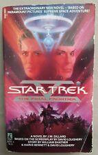 Star Trek 5:The Final Frontier by J. M. Dillard 1989 Paperback