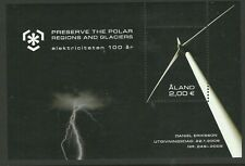 Preserve the Polar Regions and Glaciers Aland Mini Sheet, MUH