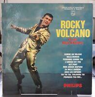 Rocky Volcano  Comme Un Volcan Rare Orig 25cl 33T Rock & Roll Lp 1961(EX /VG++)