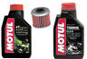 HONDA CRF250X SERVICE KIT MOTUL 5100 AND TRANS OIL WITH K&N FILTER 2004-2016