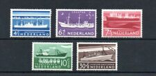 Netherlands 1957 Culture & Social Relief (ships) set Sg843/47 Mnh