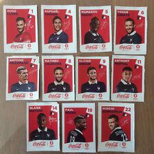 Panini em euro 2016 France 10 pochettes//50 stickers neuf édition allemande