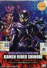 Kamen Rider Zi-O-RIDER TIME: Kamen Rider Shinobi DVD (English Subtitle)