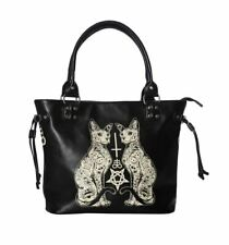 Banned Esoteric Cat Tattooed Sphynx Bag