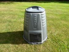 More details for grey plastic garden compost bin - only used once to make compost