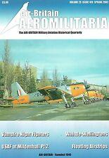 AIR-BRITAIN AEROMILITARIA Q1/02: NF VAMPIRES/ RAF MILDENHALL/ JET WELLINGTONS