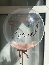 """Personalised Name Word Number Sticker Bubble Balloon Party Birthday 2"""" 3 WORDS"""