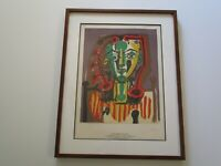 LE CORSAGE RAYE BY PABLO PICASSO LITHOGRAPH RARE SPADEM LIMITED EDITION VINTAGE