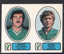 PANINI CALCIATORI FOOTBALL Adesivo 1977-78, N. 365-AVELLINO-Cesare Cattaneo