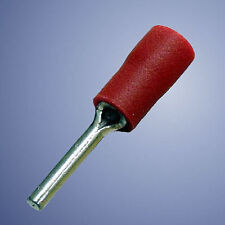 Red 12.0mm Pin Connector  Crimp Terminals  - Pack of 10