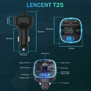 Transmetteur FM Bluetooth Lecteur MP3 Adaptateur Radio