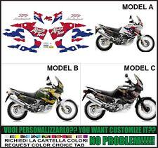 kit adesivi stickers compatibili xrv 750 africa twin rd 07  1998