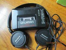 Vintage Sony Walkman Fm/Am Radio Cassette Player Wm-F2015 w/ Mdr-Zx100 HeadPhone