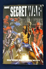 Marvel Secret War Hardcover, Bendis & Dell'Otto, See Description