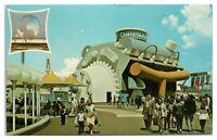 Chrysler Exhibit, 1964 New York World's Fair Postcard