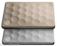Seagate Backup Plus Ultra Slim Drive 2 TB External Hard Disk Drive  (PLATINUM)*
