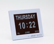 "**AUGUST OFFER** Large 8"" Digital Display Calendar Time Date Day Dementia Clock"