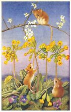 "Heda Armour~""King of the Castle"" Mouse Atop Branch~Mice Shake Flowers~Medici"