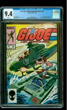 G.I. Joe A Real American Hero 25 CGC 9.4 NM 1st Zartan, Cutter Junkyard Deep Six