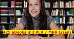 425 Deutsche PLR / MRR eBooks im Mega Paket --- NEU  ---