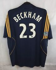 BNWT la Galaxy de David Beckham 23 Away Camiseta de fútbol 2007/08 Adultos Xl Adidas