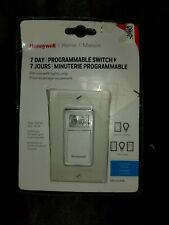 Honeywell RPLS530A 7-Day Programmable Timer Switch White. Open Box Fast Shipping