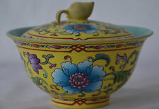 Fine Antique Chinese Famille Rose Porcelain tureen